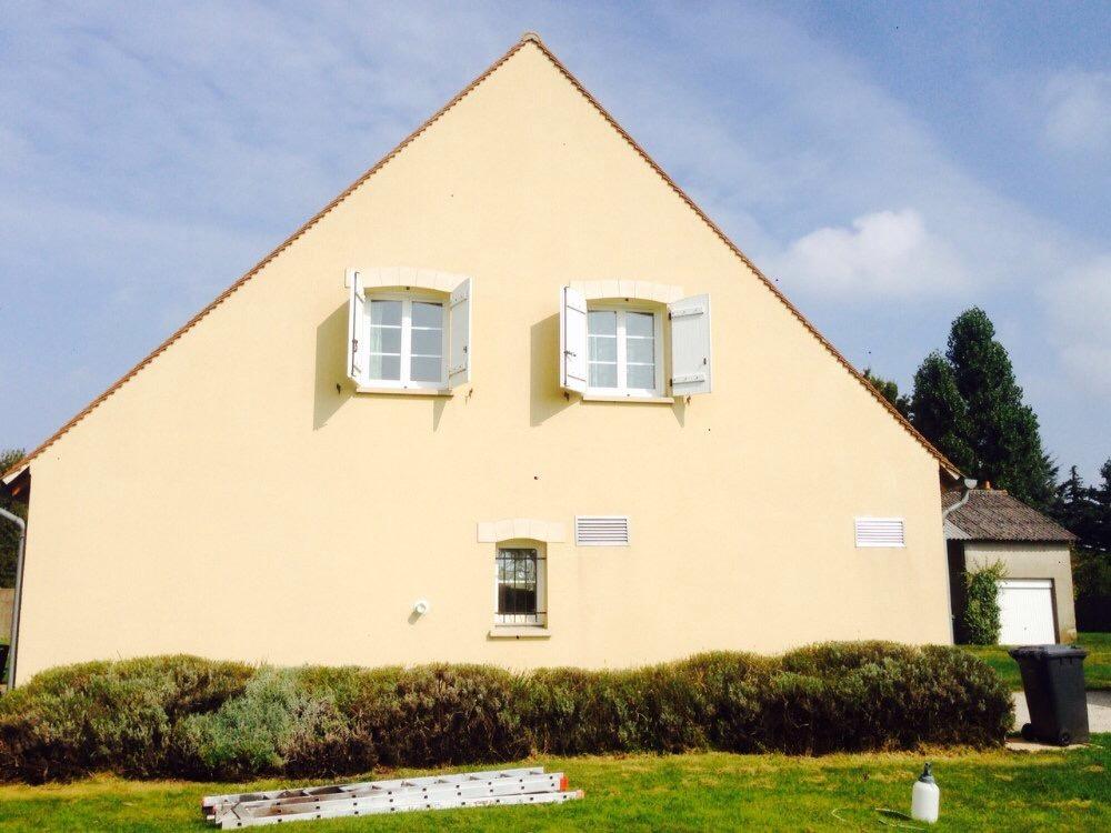 Après Rénovation Pignon de Maison